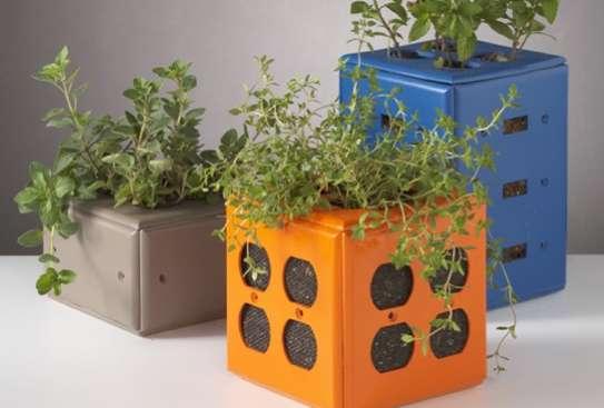 Plug Cover Flower Pots