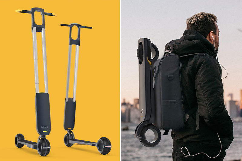 Flatpack Rideshare Scooters
