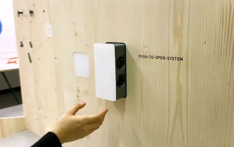 Pop-Out Electrical Outlets
