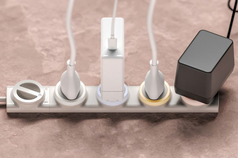 Electricity Use-Curbing Power Strips