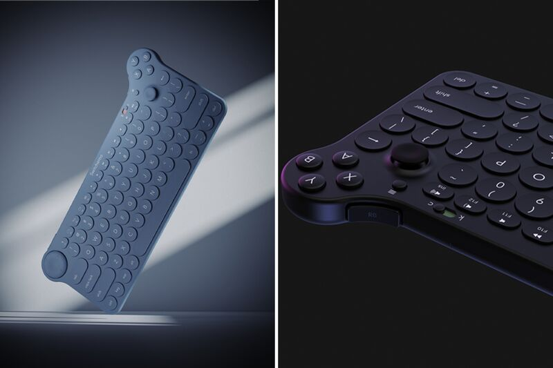 Game Controller-Equipped Keyboards