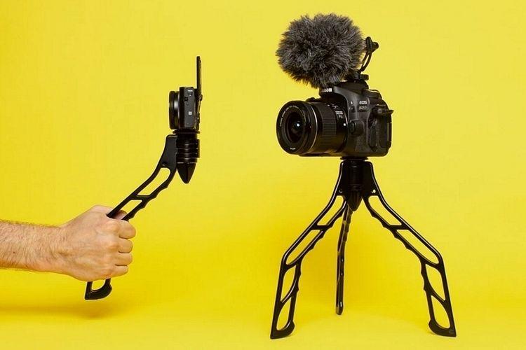 Transforming Vlogger Camera Mounts