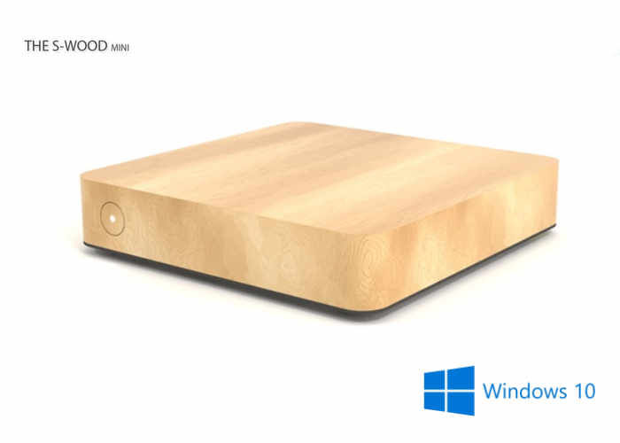 Wooden Passive Cooling PCs