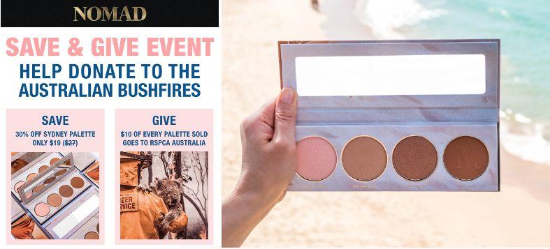 Charitable Australian Bushfire Cosmetics