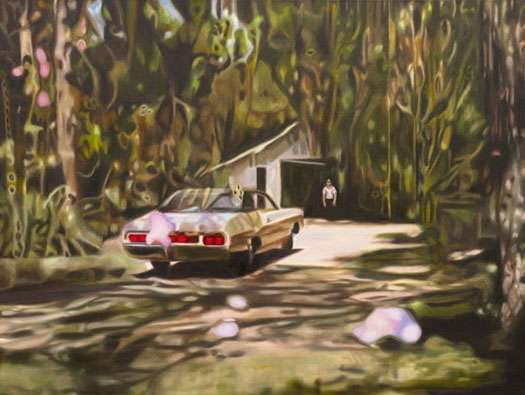 Distorted Landscape Paintings