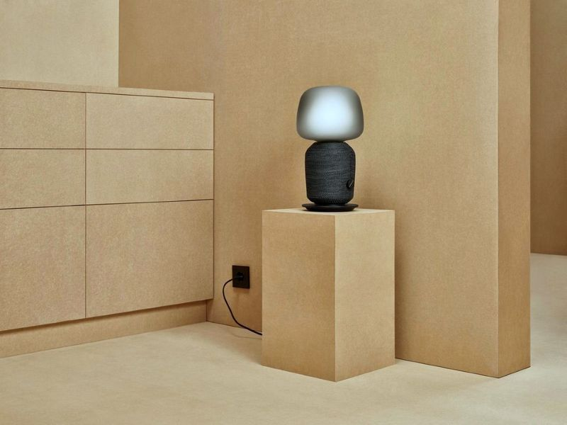 Speaker-Infused Lamps