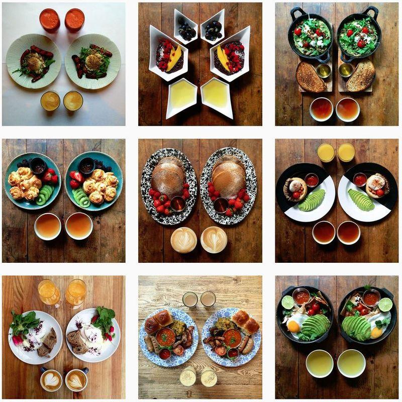 Symmetrical Breakfast Menus