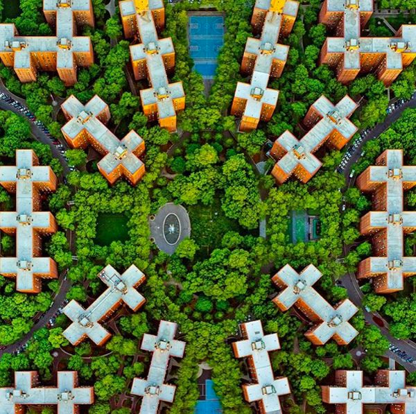 Symmetrical Urban Photography