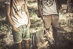 Wolf-Inspired Hipster Tees