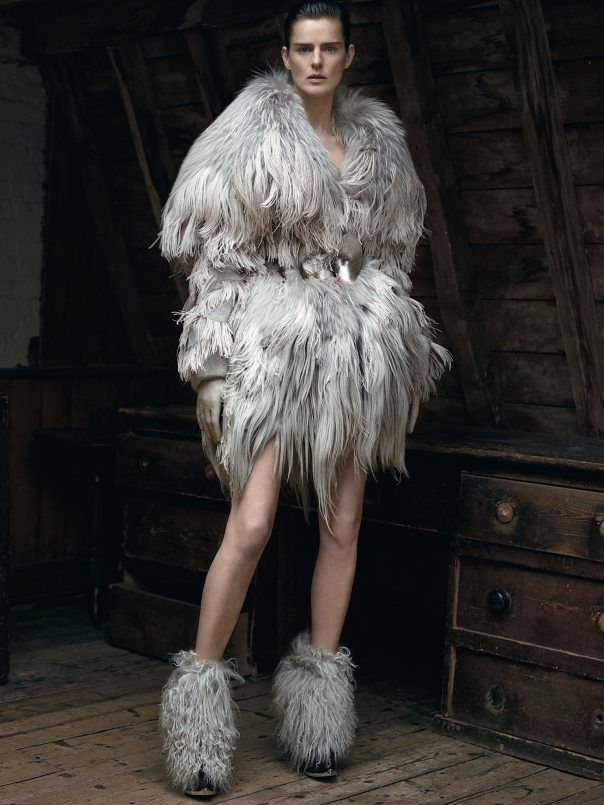 Eccentrically Textured Editorials