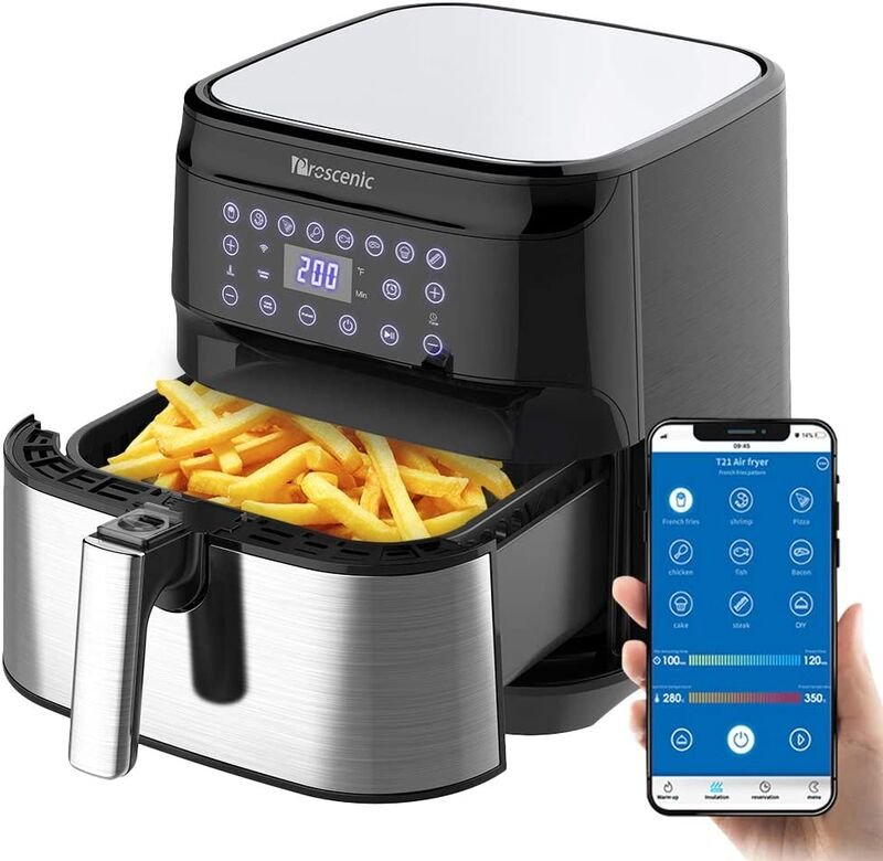 Voice-Controlled Air Fryers