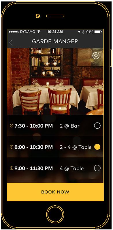 Last-Minute Reservation Apps