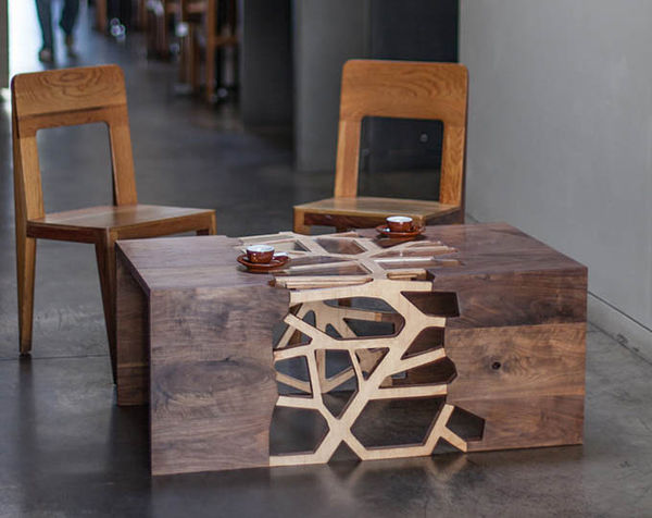 branch-inspired coffee tables : table design