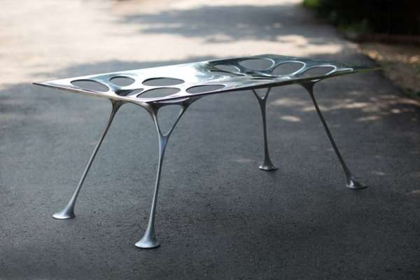 Webbed Metal Furniture