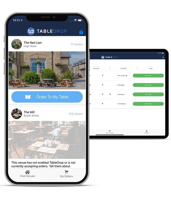 Contactless Table Service Apps