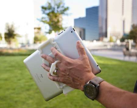 Hand-Mounted Tablets