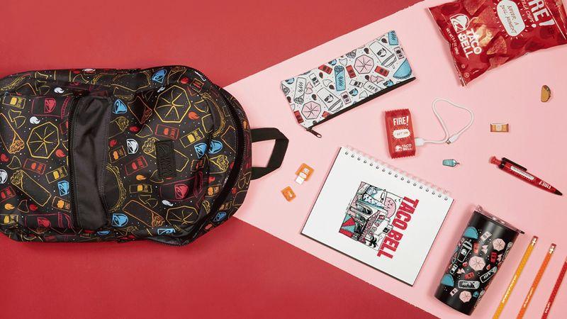 Taco Brand School Supplies