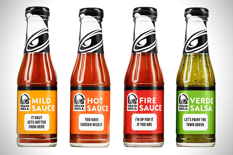 Big Brand Taco Sauces
