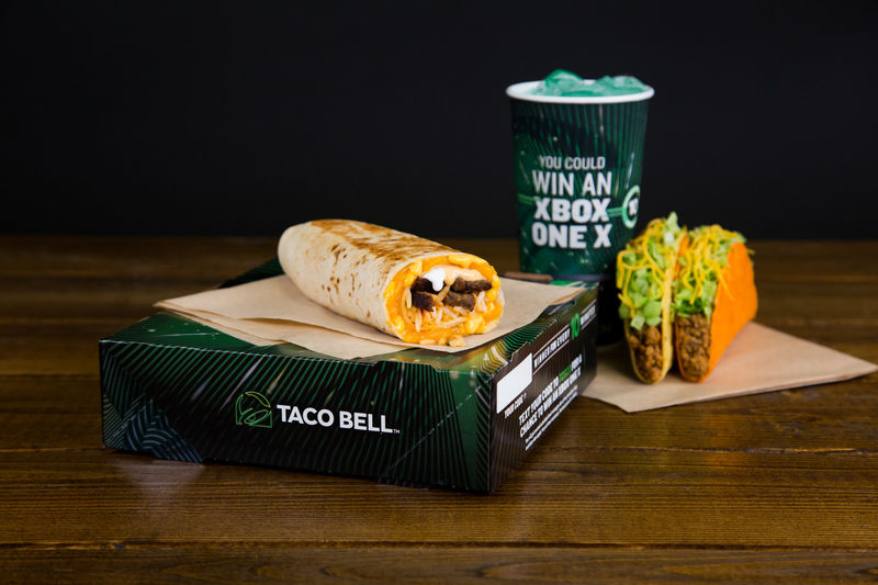 taco bell xbox one x giveaway game console qsr contests taco bell xbox 9879