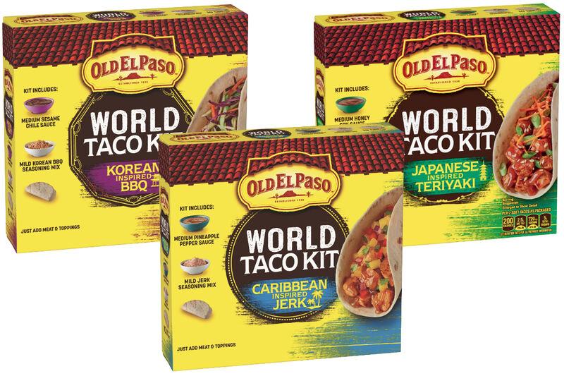 Globally Inspired Taco Kits