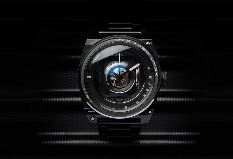 Stealth Shutterbug Timepieces