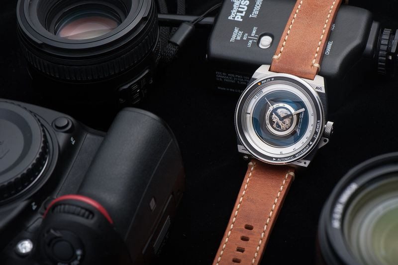 Photography-Inspired Timepieces