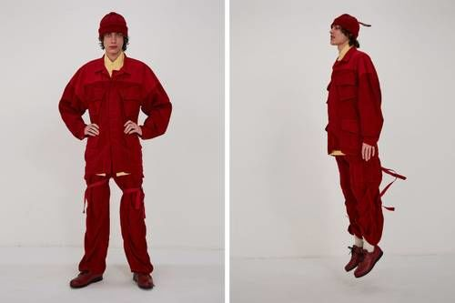 Asymmetrical Bold Fall Fashion
