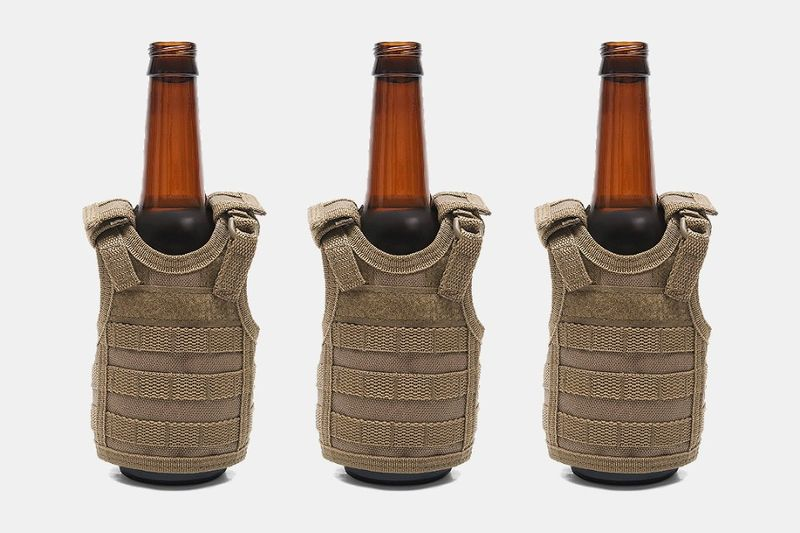Army-Inspired Beer Holders