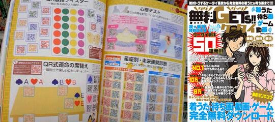 Print Magazine of QR Codes