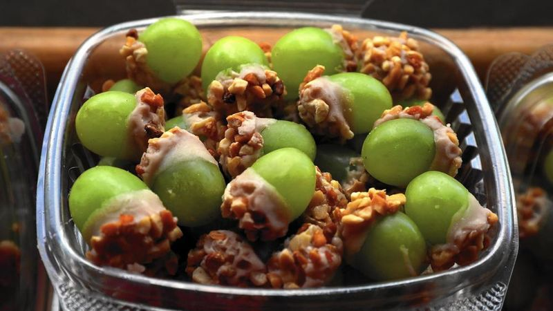 Taffy-Covered Grapes
