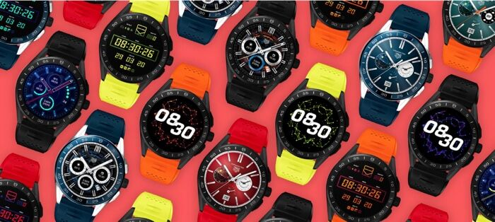 Chromatically Finished Smartwatches