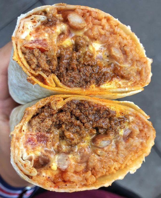 Supersized Bean Burritos