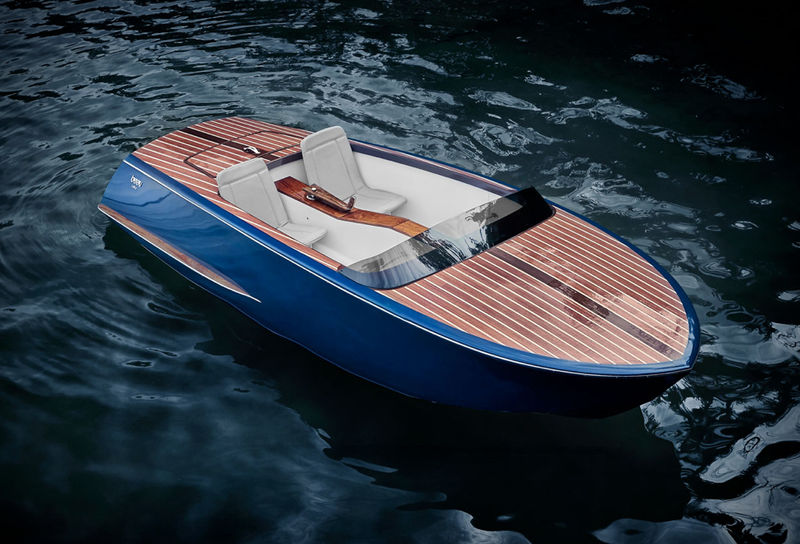 Retro-Styled Electric Watercraft