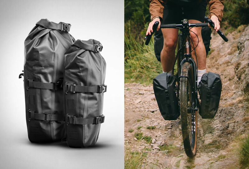 Adventurous Off-Road Cyclist Bags