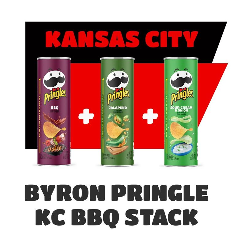 Sports-Themed Stackable Crisps