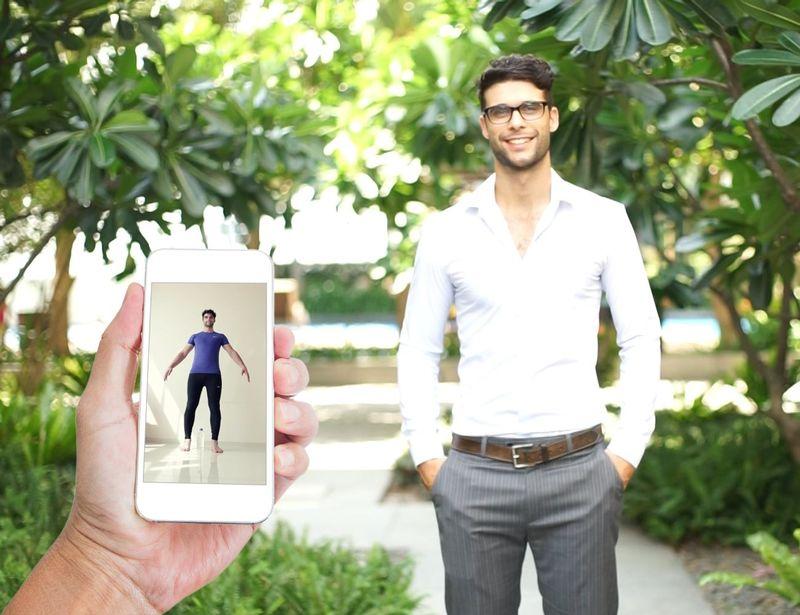 Smartphone Measurement Custom Garments