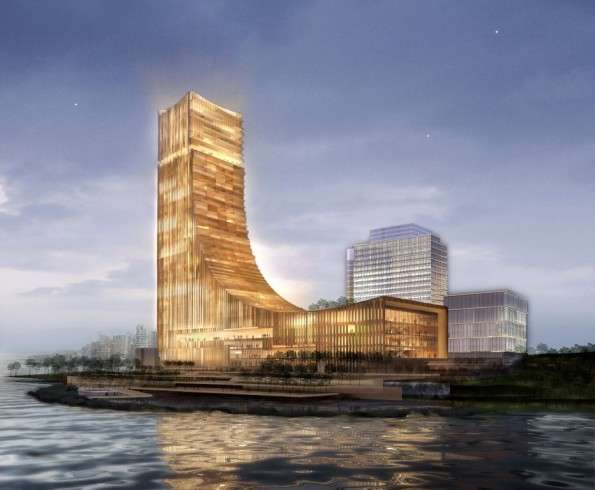 Wave forming architecture taj hotel concept for Hotel concepts