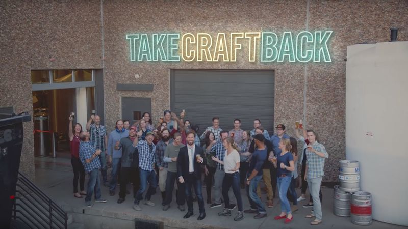Satirical craft beer campaigns take craft back for Take craft beer back