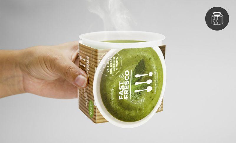 Takeaway Soup Cups