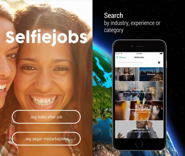Selfie-Based Job Apps