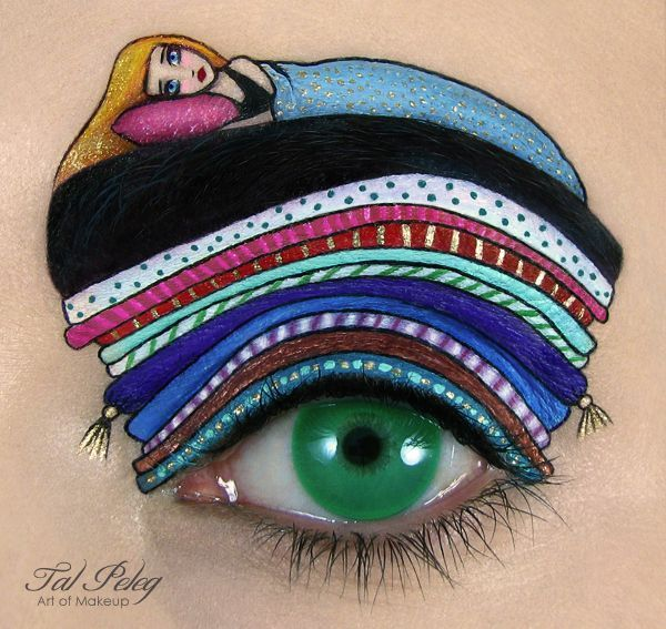 Whimsical Eyeshadow Art
