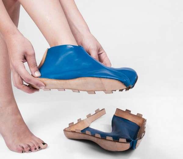 Transforming Leather Footwear