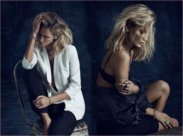 Glamorously Moody Fashion Ads
