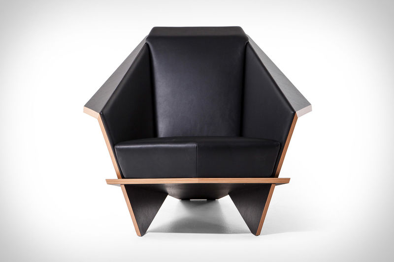 Architectural Origami Armchairs
