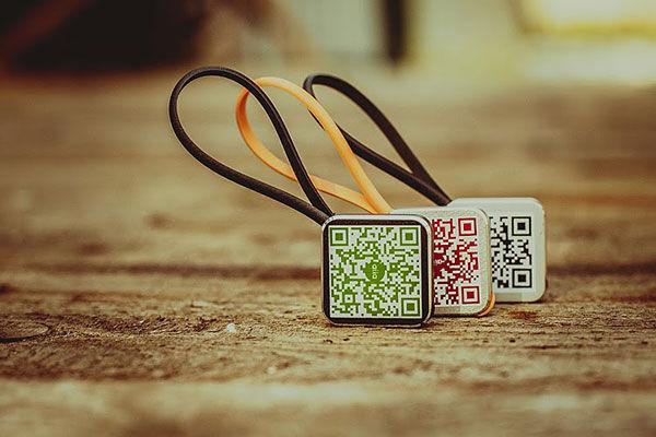 QR Code Keychains