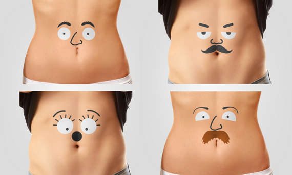 Animated Stomach Tattoos