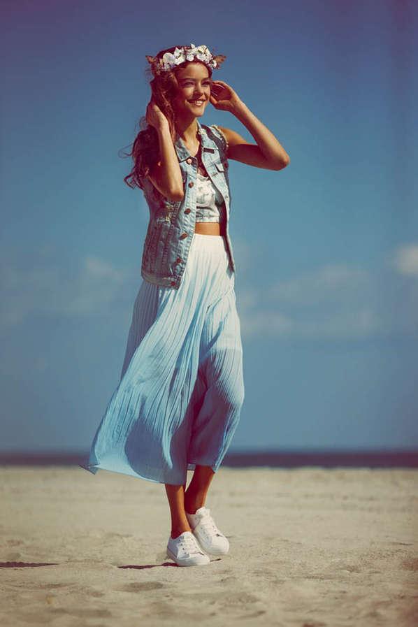 Youthful Summery Fashion Ads