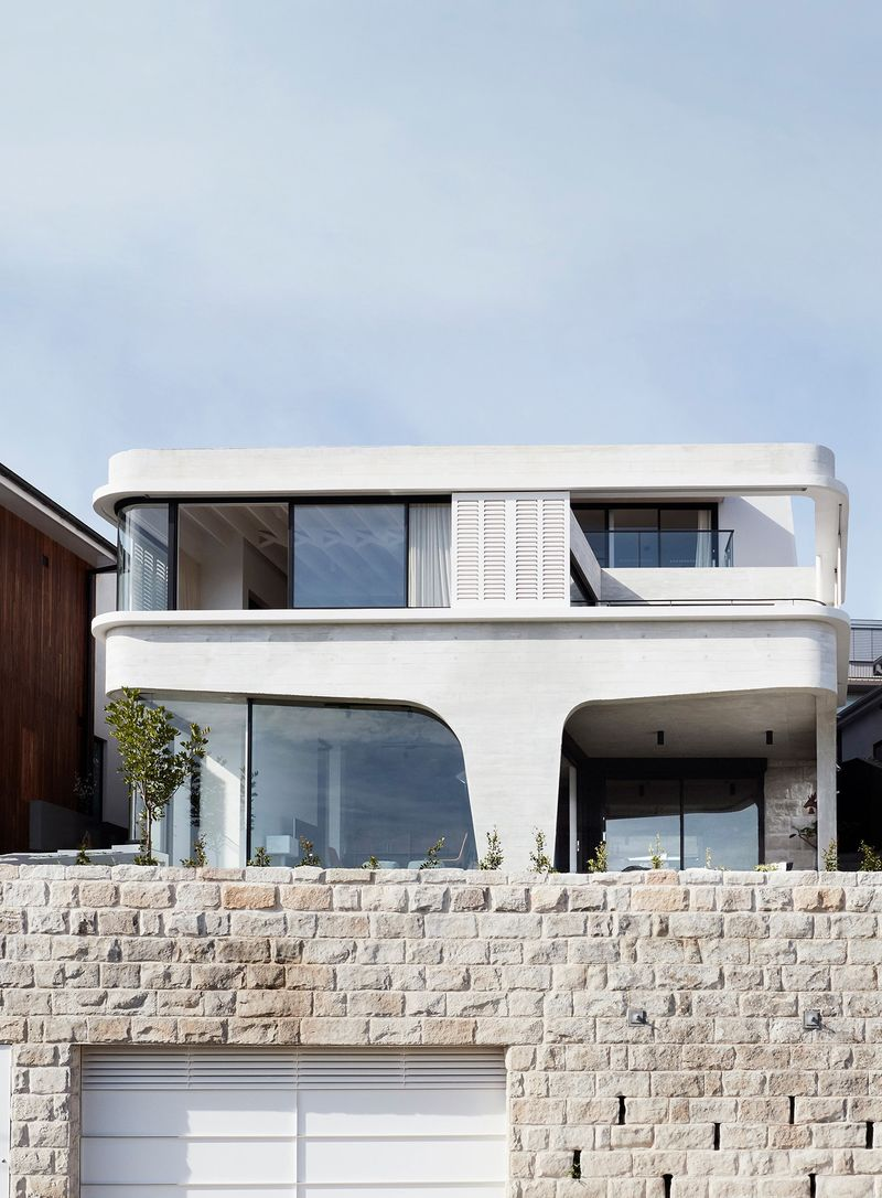 Contemporary Concrete Coastal Homes