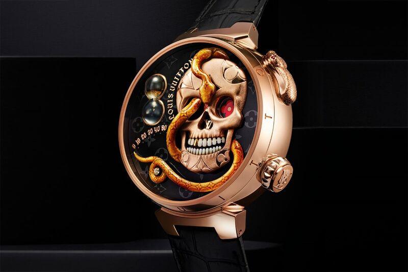 Opulent Macabre Timepieces