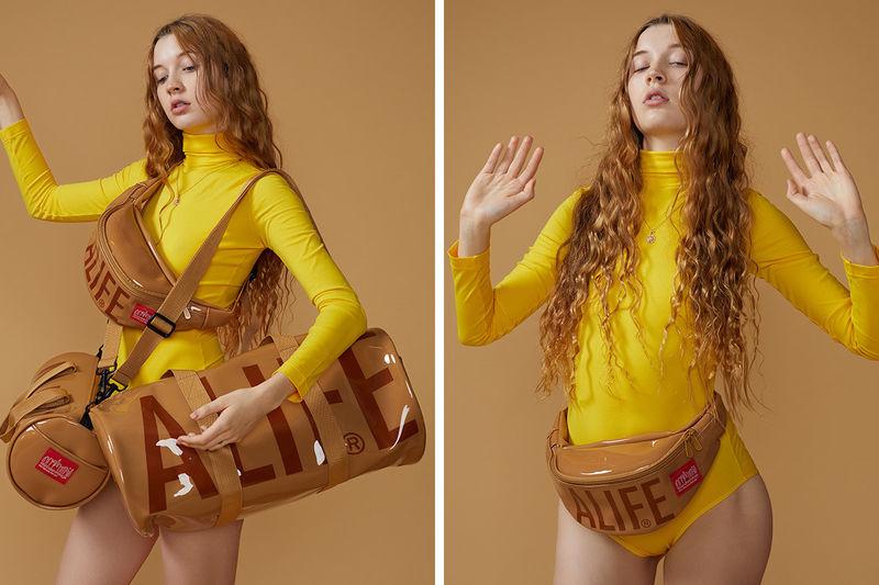 Glossy Tan Bag Collections